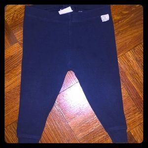 Zara Baby navy blue leggings